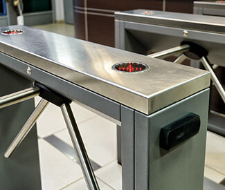 Turnstile Security Installation